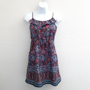 AMERICAN EAGLE OUTFITTERS Floral Print Sundress XS